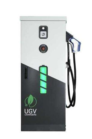 Зарядная станция для электромобилей 40 кВт, тип кабеля CHAdeMO
