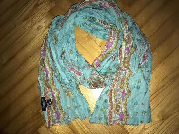 Passigatti-тонкий большой шарф палантин хлопок/шёлк!