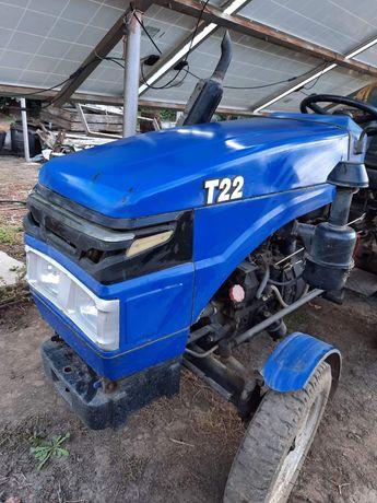 Продам трактор Xingtai(Синтай) T22 2014г. + фреза 1,40