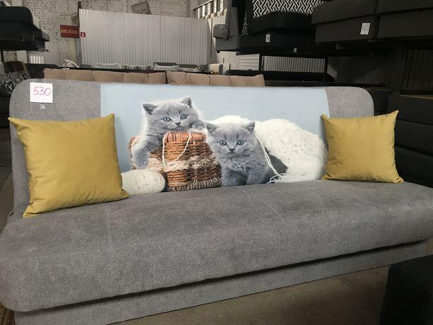 Wersalka /łóżko /sofa z wzorem rozkładana.