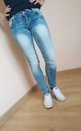Jeansy, rozmiar XS