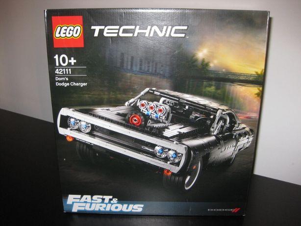 LEGO Technic - Dom's Dodge Charger 42111 - NOVO