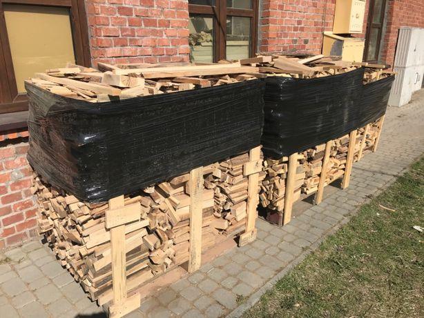 Drewno opałowe, rozpałkowe - twarde (buk, dąb) suche