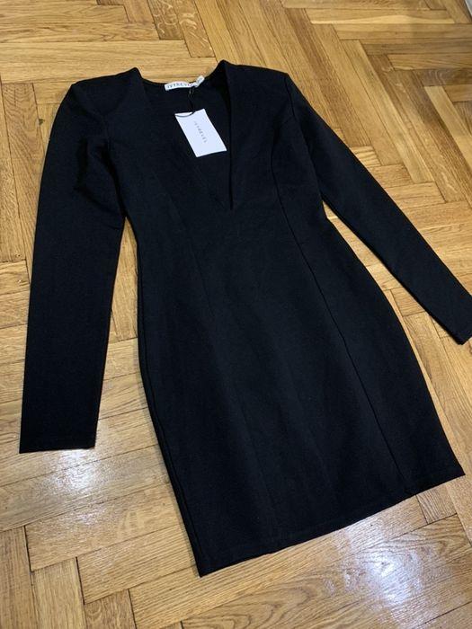 Ivyrevel новое платье черное с плечиками с v вырезом (Zara, bershka) Киев - изображение 1