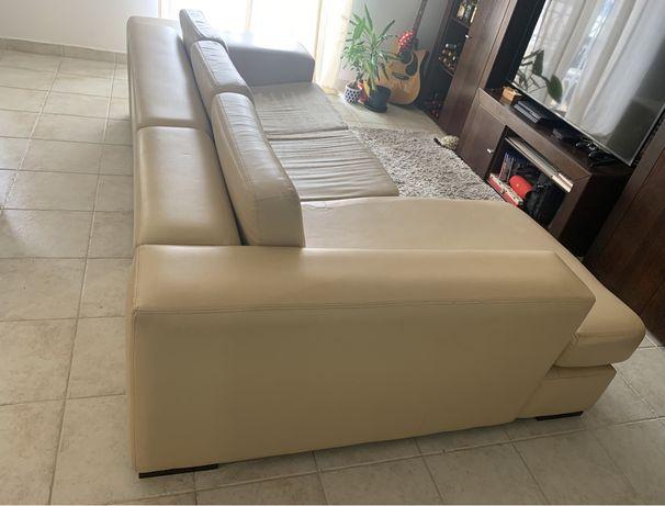 Vendo sofa com chaise longue