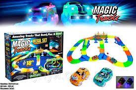 Гибкая гоночная трасса Magic Track 360 (Мэджик Трек) 360 деталей + 2 м