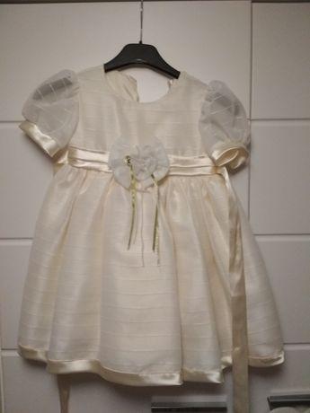 Sukienka balowa wesele 3-4latka 104
