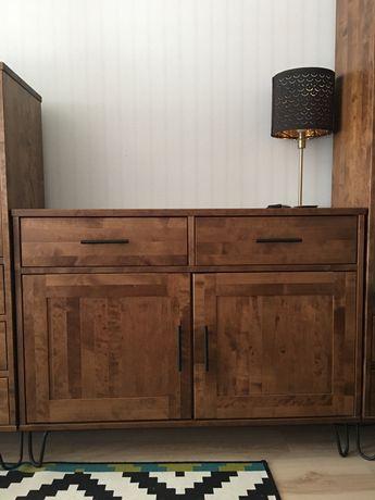 Komplet drewnianych mebli ADB