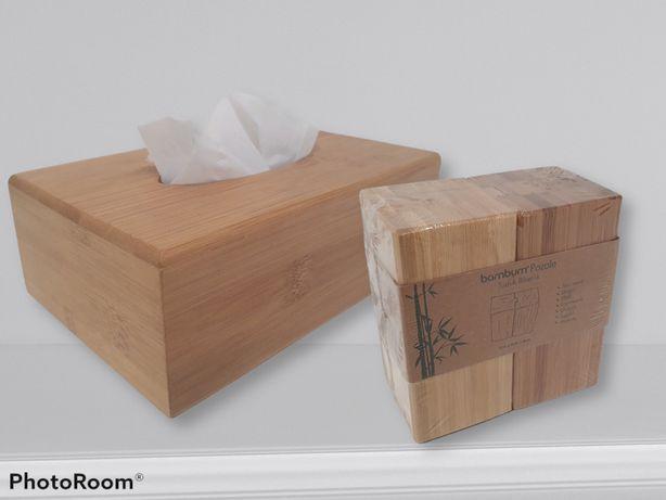 Сет/набор для соли, перца и салфеток Bambum