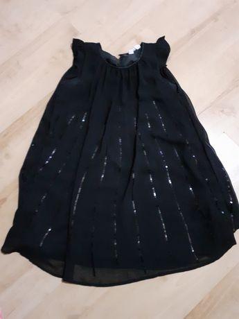Sukienka dziewczęca h&m 140