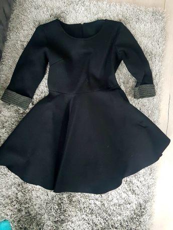 Sukienka czarna piankowe r 36