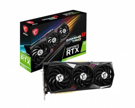 Видеокарта | MSI GeForce RTX 3080 Ti Gaming X Trio 12GB GDDR6X