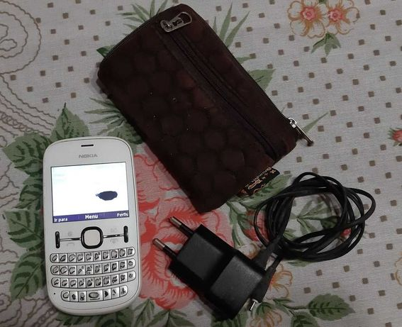 Nokia Asha 201 (branco) Rede vodafone