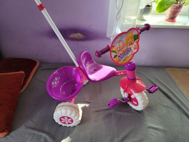 Rowerek trójkołowy Natalia dziewczynka