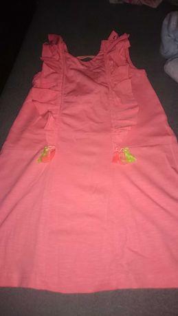Sukienka coccodrillo neon 92/98/104