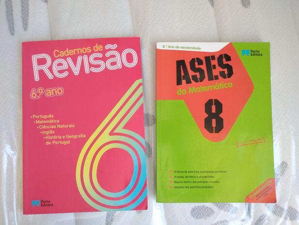 Livros Revisões 6 e 8 ano