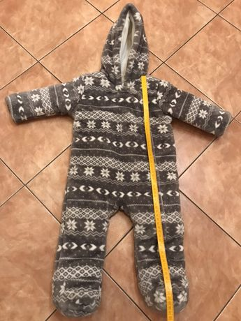 F&F baby комбинезон зимний 6-9-12 месяцев