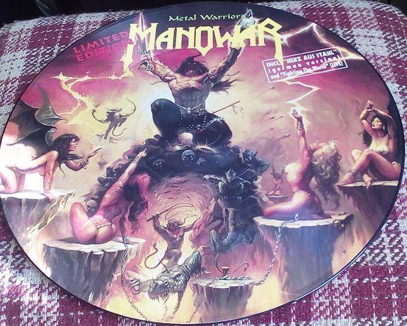 Manowar – Metal Warriors, Vinyl, Picture Disc