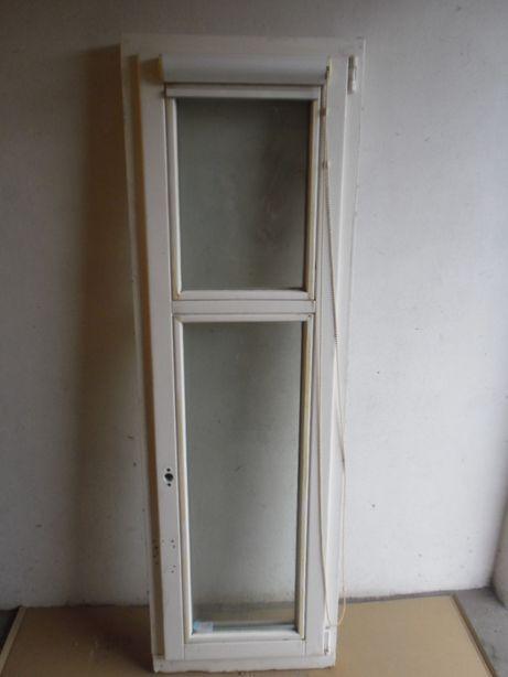 okno drewniane z demontażu
