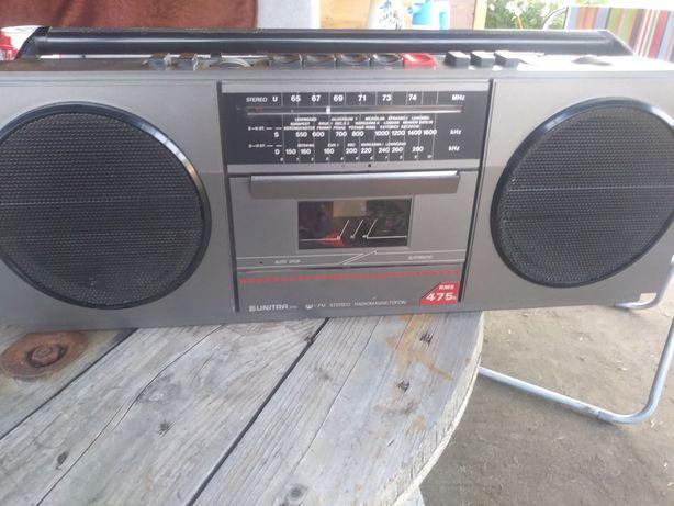Radiomagnetofon kasetowy, stereo, UNITRA RMS 475
