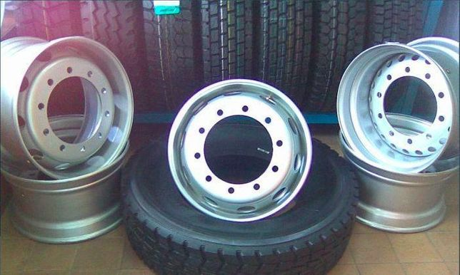 Грузовые диски на фуру MAN прицеп полуприцеп DAF R22,5 11,75 шпильки