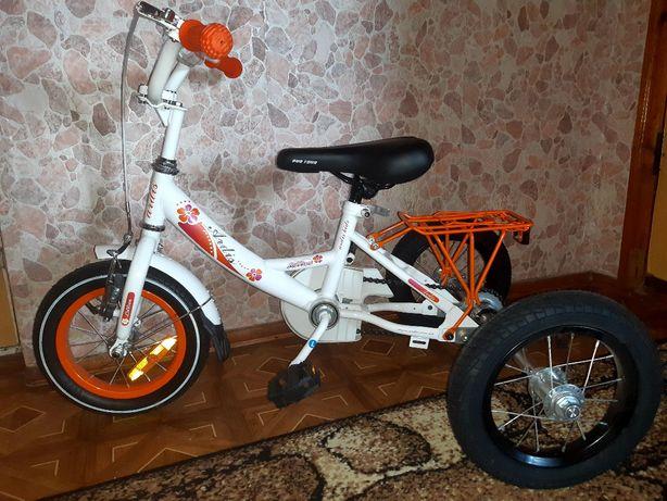 Велосипед трёхколесный от 3-х.