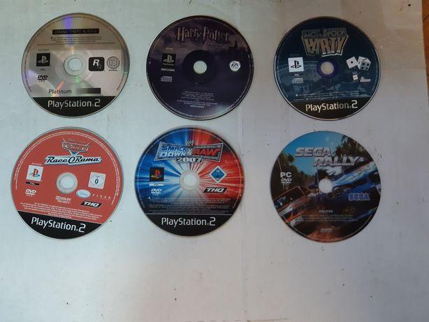 Conjunto de jogos para PS2 e PC