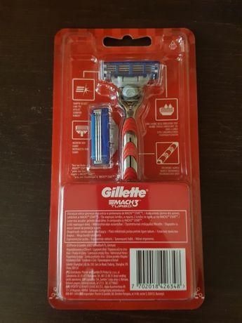 Maszynka Gillette mach 3 turbo 2 wkłady