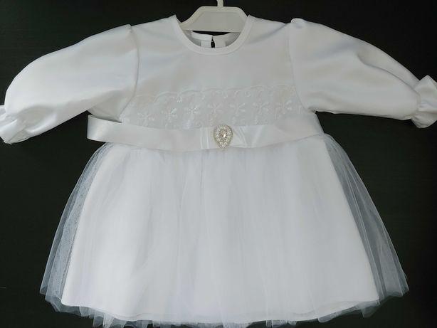 Komplet dziewczęcy do chrztu r. 68