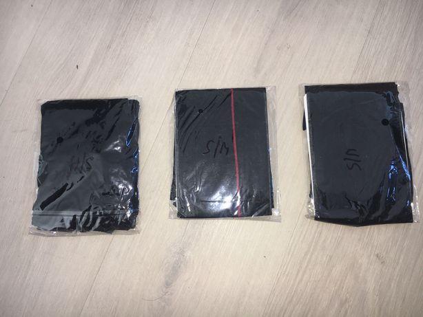 721/ Tanio multipak pończochy klasyczne S/M czarne 2 x i 1 x ze szwem