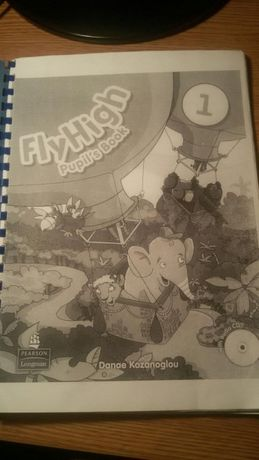 Учебник по английскому языку Флай Хай Fly High pupil's book 1