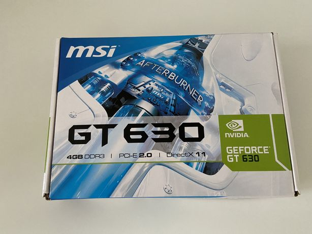 Karta graficzna MSI GeForce GT 630 4GB