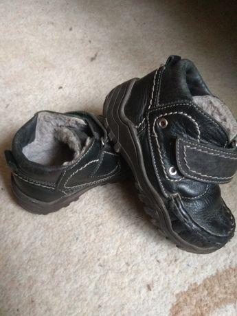Кожаные зимние ботинки, сапоги, угги