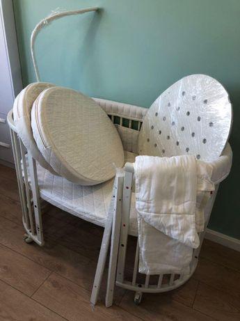 Детская кроватка-манеж Stokke Sleepi белый оригинал