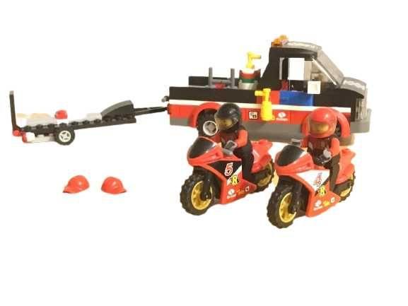 Klocki LEGO City Transporter motocykli 60084 Zestaw Wyścigi