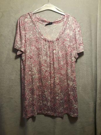 Bluzka różowa we wzory dostępne rozmiary 40