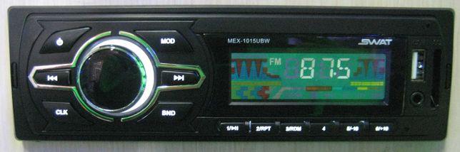 Автомагнитола Swat MEX-1015UBW (новая, магазин)