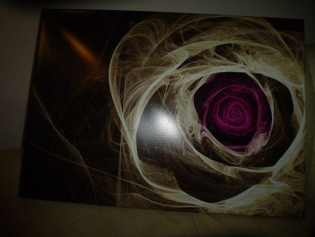 Obraz dymna róża