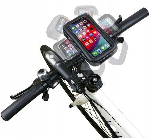 Uchwyt z etui na TELEFON na rower motocykl Tylko wysyłka