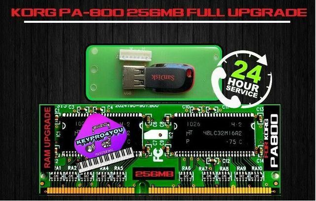 KORG Pa800 Pa2X pro ram 256 + вінчестер в комплекті.