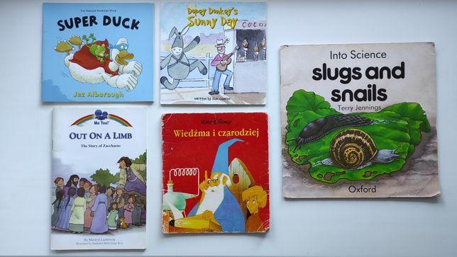 Книги на английском и польском языке Super Duck, Slugs Snails, Limb