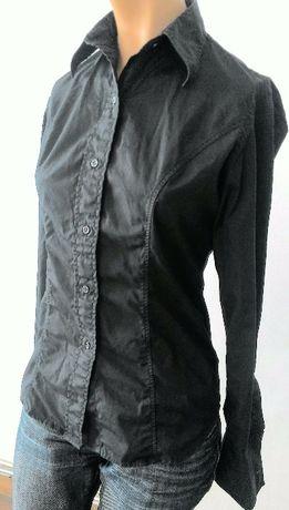 Czarna klasyczna koszula damska S 36 - - Kup 3 za 2
