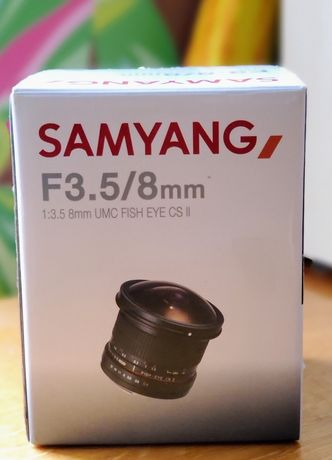 Samyang 8mm f/3.5 AS IF UMC CS II Canon EF