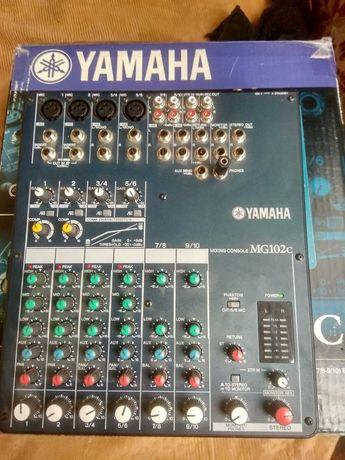 Продам микшерный пульт Yamaha MG102c. Почти новый
