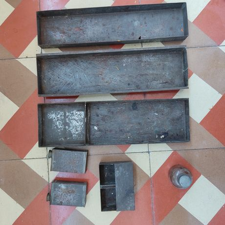 Utensílios de caixa de pintura para o exterior
