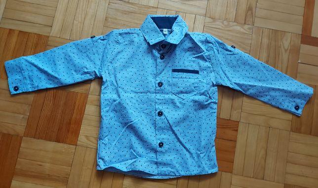 Koszula chłopięca rozmiar 86