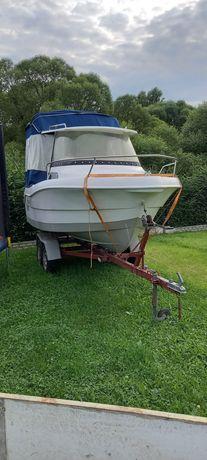 Cortina 480 łódź kabinowa motorowa spacerowa wędkarska