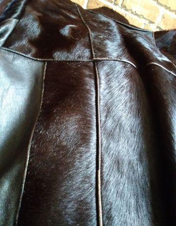 Włosie końskie płaszcz damski Vintage PRL roz M