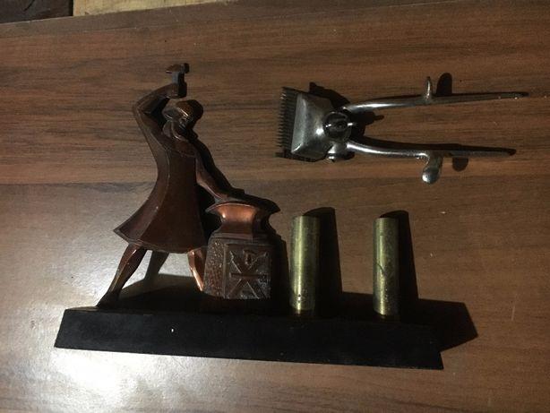 Машинка для стрижки немецкая старая +сувенир ссср кузник
