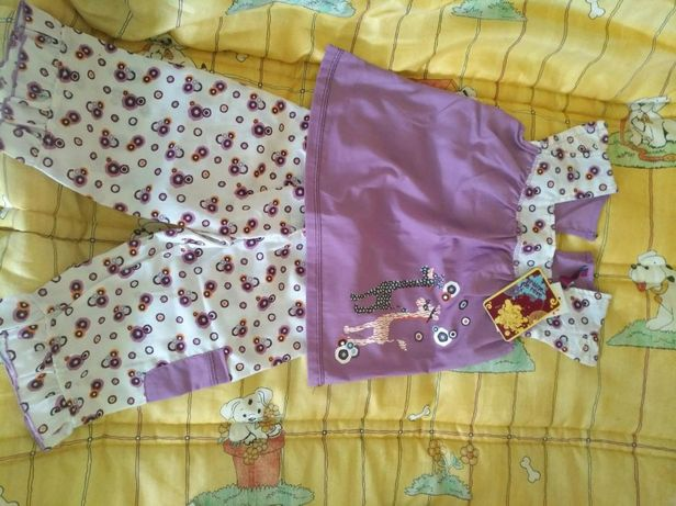 Pijama de menina novo